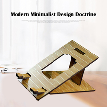 Protect-The-Spine-Bracket Wood Tablet Laptop-Stand Cooling-Base Disassemble Universal