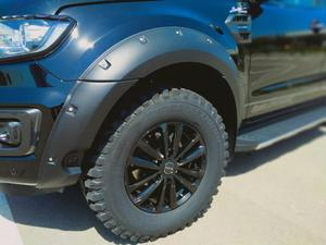 АРКА колеса, брызговики для Ford Ranger 2016, 2017, 2018, 2019, 2020, Wildtrak T7, T8, MK2, MK3, двойная кабина, клепки, гайка