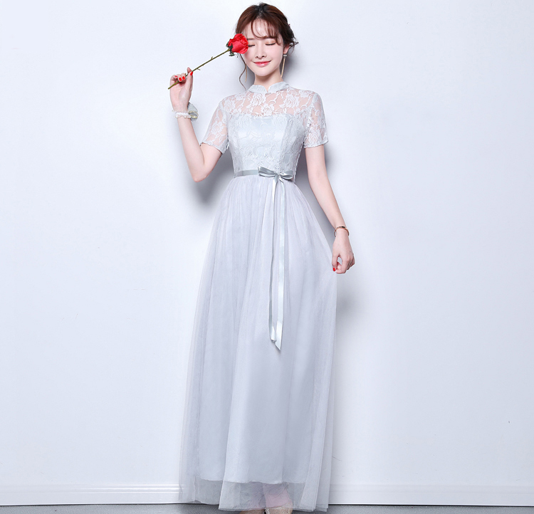 Vestido Azul Marino Elegant Long Dress For Wedding Party For Woman Pink Bridesmaid Dress Sister A-Line Sexy Prom Dress Champagne