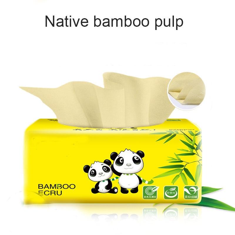 1 Pcs Tissue Napkin Paper Soft Skin-Friendly 3 Layer Portable For Toilet Home Bathroom New IK88