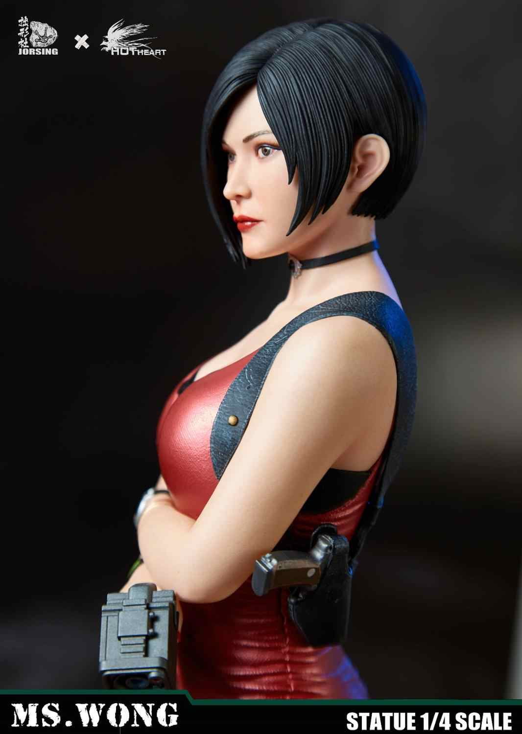 Hot Heart 0174ex 1 4 Resident And Evil 6 Game Character King Ada Mysterious Female Statue Decoration Collection Aliexpress