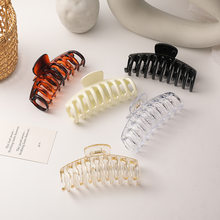 Hair Clips for Women Simple Geometry Elegant Multi Color Hair Accessories for Women Acrylic Fashion Jewelry Wholesale