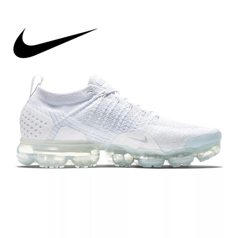 Chaussures de course NIKE AIR VAPORMAX FLYKNIT 2 pour hommes respirant Sport de plein AIR Durable Jogging athlétique baskets 942842-001