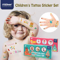 MiDeer Stickers Tattoo Stickers Children Cartoon Toy Colorful Garden 234pcs Finger Sticker Children's Toy Gifts >3 years old