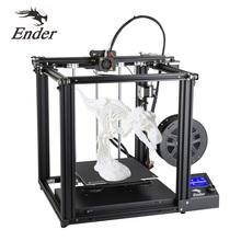 Creality Ender-5 Ender-5 Pro 3D drukarki DIY zestaw 220*220*300mm budować objętość z Upgrade Silent płyty głównej PTFE rury wytłaczarki tanie tanio CREALITY 3D Ender-5 Ender 5 Pro CN (pochodzenie) 1 75mm 60mm s(Normal) 110℃ 0 1mm-0 4mm English Chinese 180mm s 100mm s