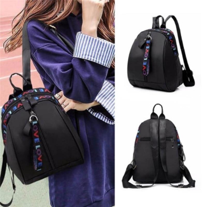 2020 Korean Style Women Mini Backpack Oxford Shoulder Bag For Teenage Girls Multi-Function Small Bagpack Female Phone Pouch