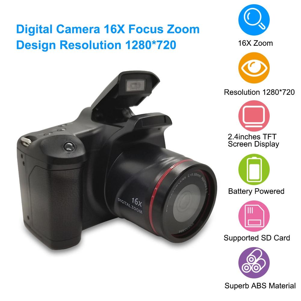 Digital Camera 16x F-ocus Zoom Design Camera1280x720 Supported 32gb Card Portable Digital Camera For Travel Photo Taking Fine Quality