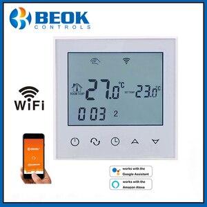 Image 3 - WiFi termostat akıllı sıcaklık kontrol elektrikli sıcak zemin termoregülatör Alexa ile çalışmak Google ev 200 240V