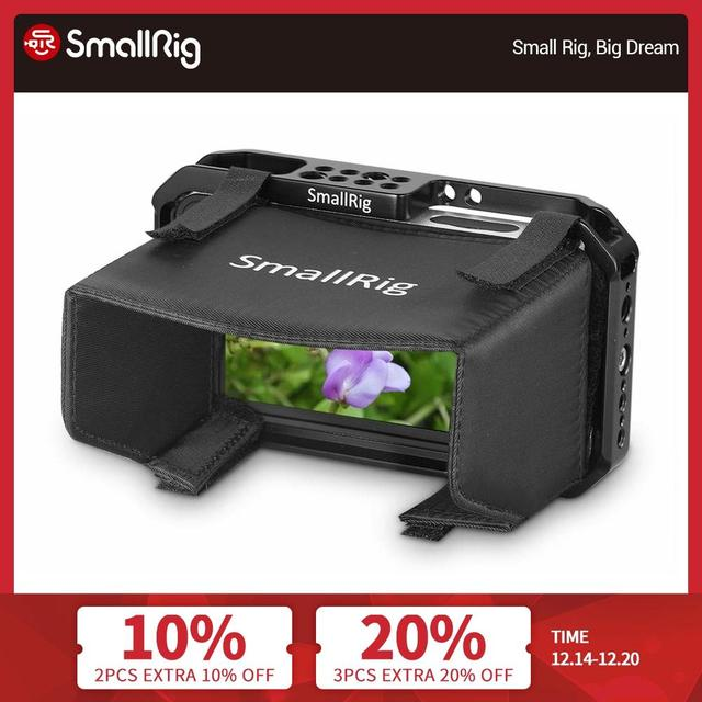 """Smallhd 501/502 for smallrig sunhood monitor cage painting """"sunshade hood 2177 fitted monitor protection cage"""