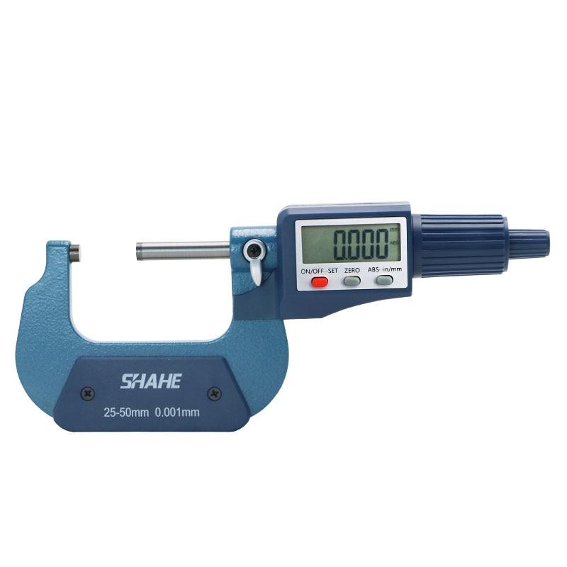Tools : 25-50mm Digital Micrometer 0 001mm digital Micrometer Accurate Measuring Tools  Micrometer Good quality Micrometer