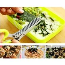 Кухонные ножницы из нержавеющей стали, Многофункциональные кухонные ножницы, прочный кулинарный резак с острым лезвием