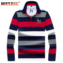 2020 nouveau automne arrivée Polo à manches longues hommes élégant de haute qualité de marque de broderie Polo chemises décontracté affaires tissu 8808