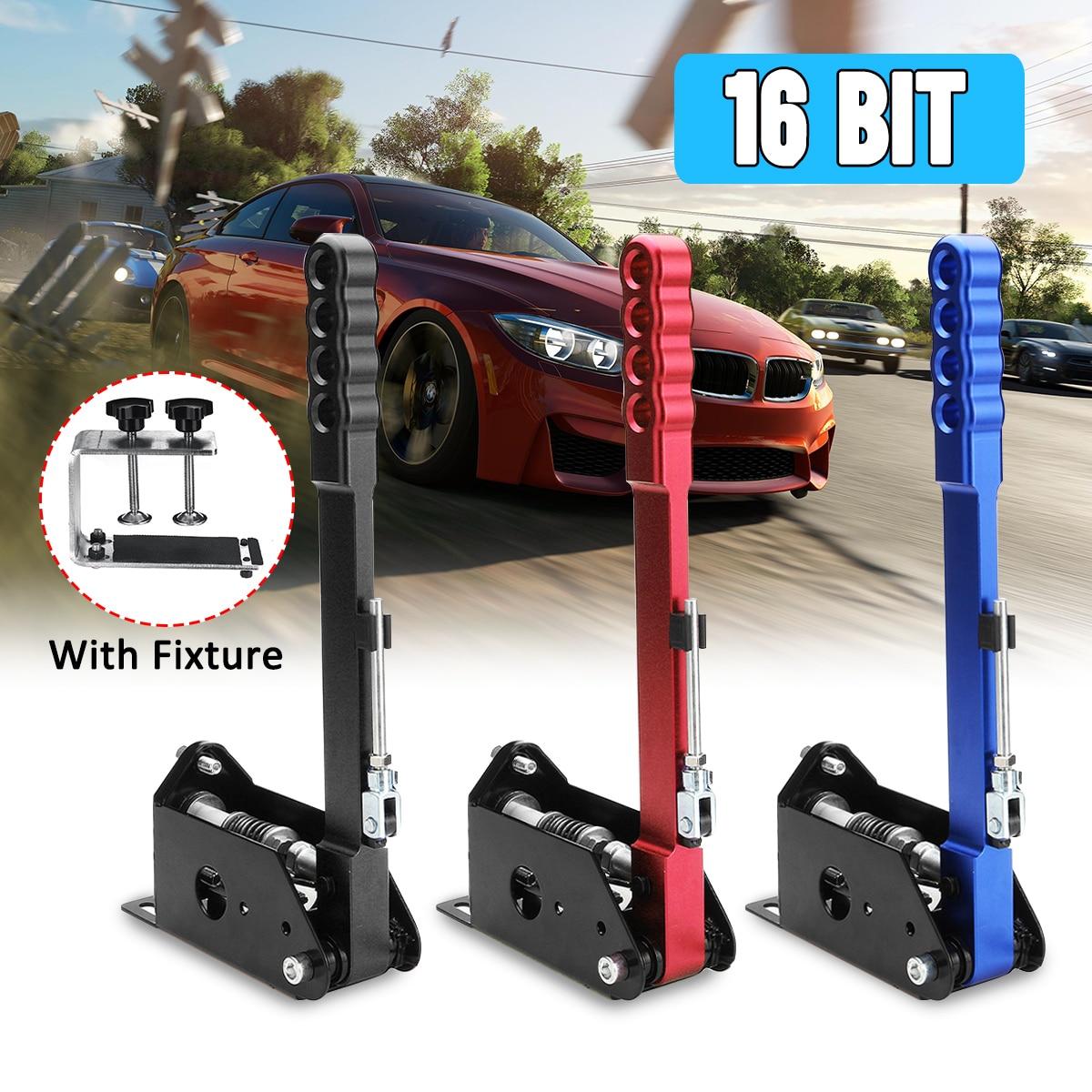 3 colore Universal-16Bit Sensore di Hall USB Freno A Mano Drift di Controllo del Sensore Regolabile in Altezza Morsetto per G25 G27 G29 T500 SPORCIZIA- RALLY