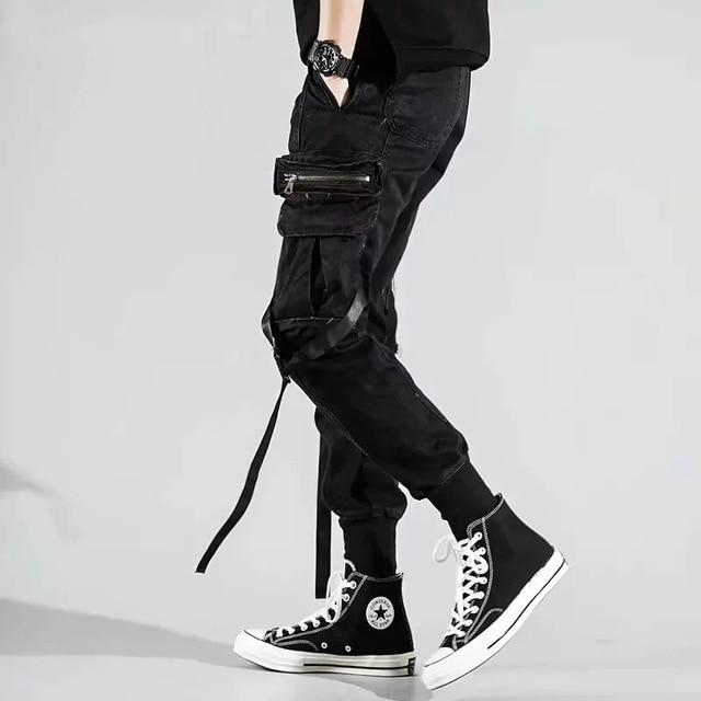 Мужские штаны с боковыми карманами  4