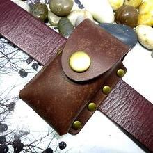 Blongk чехол для автомобильных ключей поясная сумка из натуральной