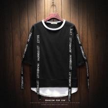 2019 Brand clothing Men summer Fashion loose Hip h