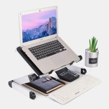 Laptop Stand Can Be Adjusted By Lifting The Base Plate Stand Small Table
