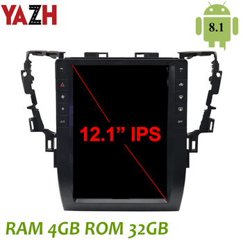 """YAZH Android 8.1 OS Auto Radio Multimedia For Toyota Alphard/Vellfire 2015 2016 2017 2018 2019 With 12.1"""" IPS GPS Display DSP"""