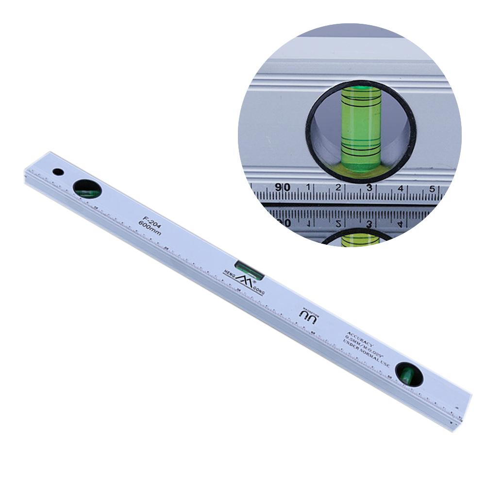 300mm Aluminum Alloy Magnetic Three Level Bubble Level Ruler Measuring Tool