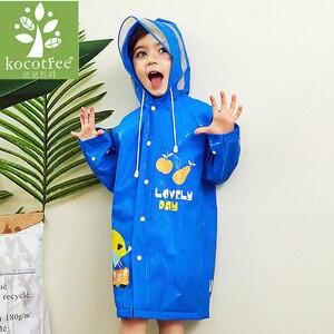 Прозрачный непромокаемый костюм для мальчиков и девочек с рисунком животных; Водонепроницаемый детский костюм с капюшоном из пвх; Детский ...