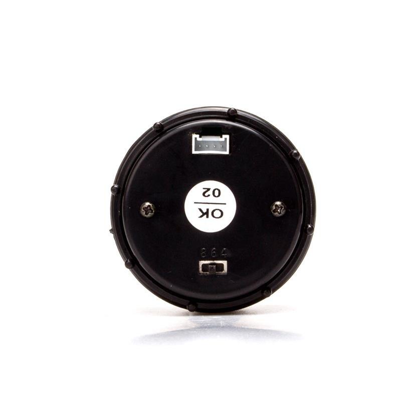 52 мм светодиодный цифровой автомобильный датчик соотношения воздушного топлива, гоночный индикатор воздушного топлива, дымчатый 12 в автом...