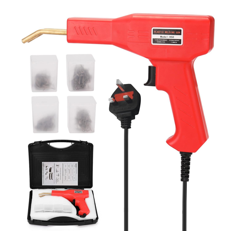 Tool Stapler Tools Machine Hot Welders Machine PVC Garage Repairing Staplers Bumper Repairing Car Handy Plastics Staple Welding