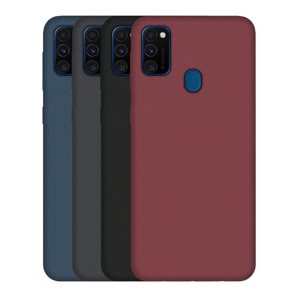 LECAYEE Thin Frosted Cases For Samsung Galaxy M30s M31 M30 Or Matte Silicone Soft Covers For Galaxy M21 M20 M10 M10S M11 M40