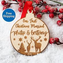 Babys First Christmas Ornament #8211 My First Christmas #8211 Wood Engraved Christmas #8211 Newborn Christmas #8211 Baby Christmas #8211 Rustic Xmas cheap