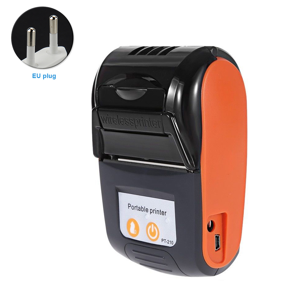 58mm Rechargeable Easy Operate Receipt Machine Ticket USB Thermal Printer Wireless Bluetooth For Mobile Phone Portable Practical