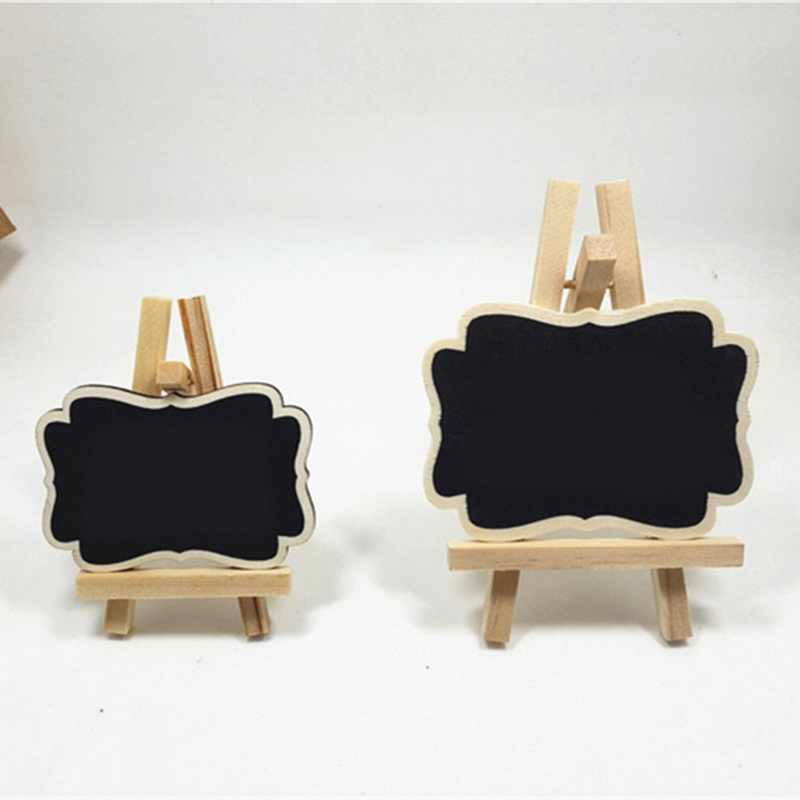 Mini Wooden Blackboard For Wedding Party Decorations Universal chalkboards Message board