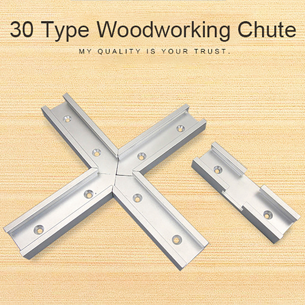 30 Type Woodworking Track Jig Intersection Chute Aluminum Slot Miter T Track Tool For Electric Circular Saw Flip Table Tools Woodworking Machinery Parts Aliexpress