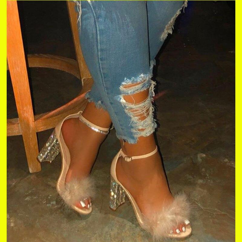 2020 Women Summer Platform Pump Shoes Woman Round Toe High Heel Shoes Woman Party Wedding Shoe High Heels Pumps Chaussure