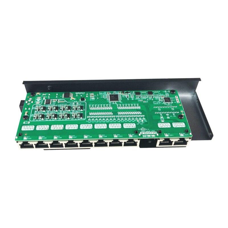 8ch porto poe switch ieee802.3 ataf 10