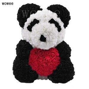 Image 4 - 40 Cm Lễ Tình Nhân Hoa Hồng Gấu Nhân Tạo Hoa Hoa Hồng Teddi Gấu Nữ Tặng Bạn Gái Đồ Trang Trí Gấu Bông Hoa Hồng đồ Trang Trí