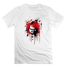 Good Guys Chucky Horror T Shirt 100% Cotton Short Sleeve 5XL Tees Wholesale Round Neck Novelty Men's Tops майка борцовка print bar good guys