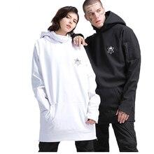 GSOU Снежная Пара Толстовка сноуборд куртка зимняя ветрозащитная утолщенная теплая водонепроницаемая уличная Лыжная и сноубордическая Толстовка