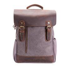 Vintage Canvas Backpack Unisex Travel Rucksack for Laptop Hiking School Bookbag Daypacks Computers Laptop Backpacks