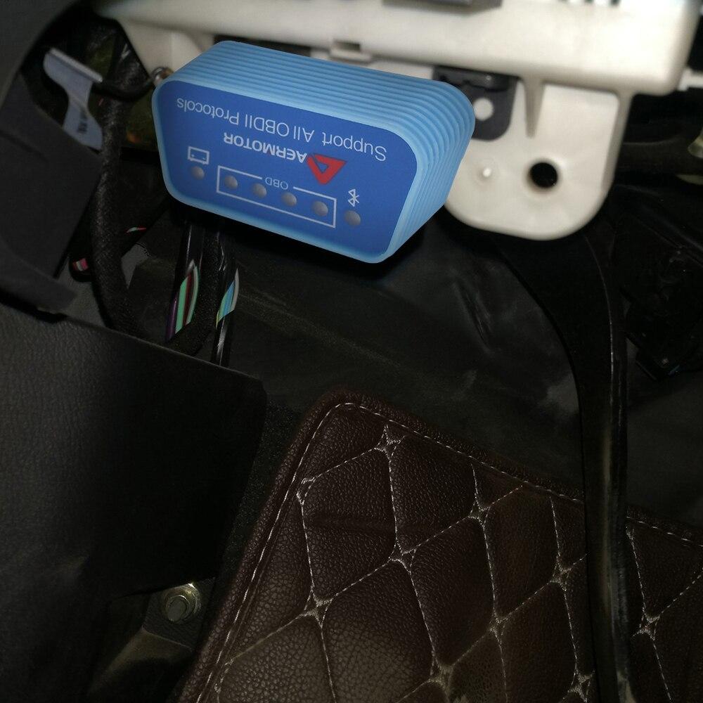 Автомобильный диагностический инструмент Pic25k80 Чип Wifi OBD2 ELM327 сканер Bluetooth ELM327 сканер OBD2 сканер код ридер для Android IOS