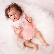 Реалистичные куклы Новорожденные с голубыми глазами для новорожденных