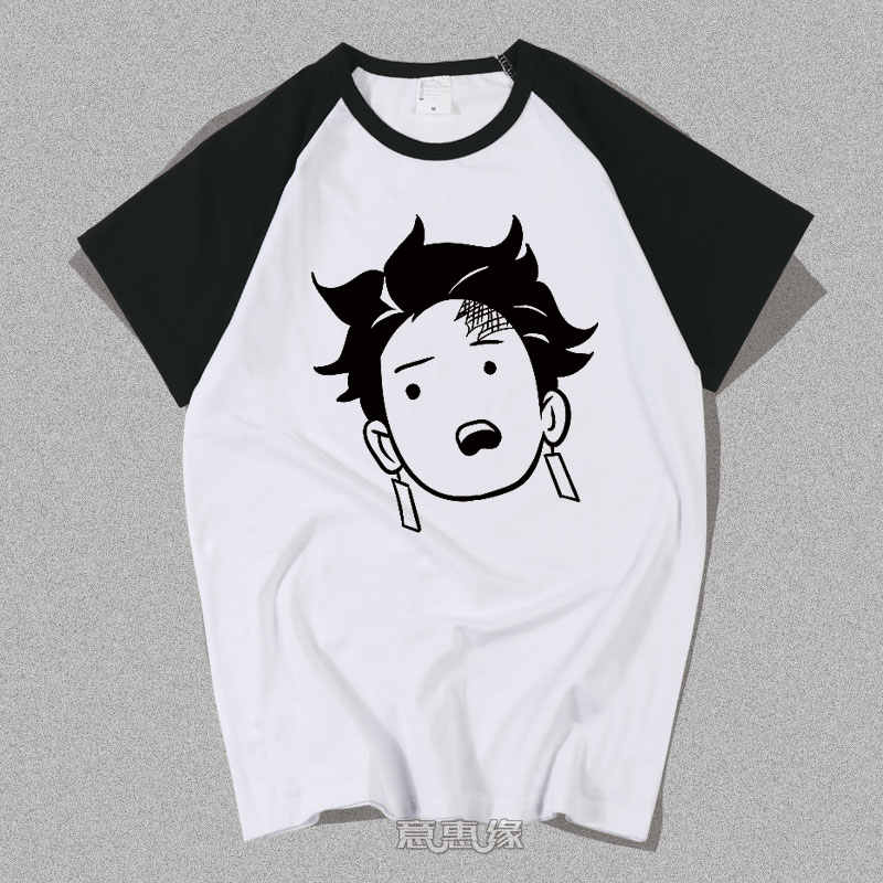 Nieuwe Demon Slayer: kimetsu Geen Yaiba Cosplay T-shirt Kamado Tanjirou Agatsuma Zenits Anime Mannen T-shirt Zomer Katoen Tees Tops