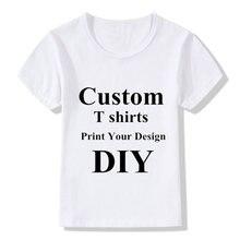 Настраиваемая футболка diy имя картина логотип одежда женские