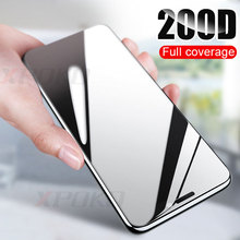 200D Gebogene Kante Schutz Glas auf die Für iPhone 7 8 6 6s Plus Gehärtetem Screen Protector Für iPhone 11 Pro X XR XS Max Glas