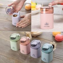 Fashion Wheat Straw Automatic Toothpick Holder Container Dispenser Home Decor Convenient to Use