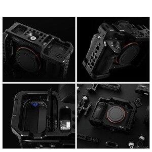 Image 5 - Selens a7iii a7r3 a7m3 jaula para Sony A7RIII /A7III/A7MIII jaula de aleación de aluminio para montar trípode Kit de extensión de liberación rápida 2087