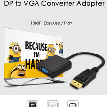 TenYua DisplayPort Display Port DP to VGA Adapter Cable Male