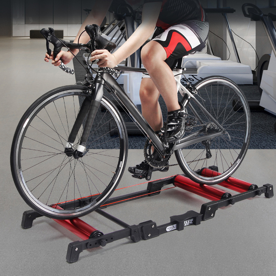 Bicycle Trainer Stationary Bike Cycle Stand Indoor Exercise Training Foldable