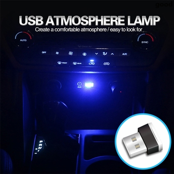 Car Styling LED Atmosphere Lamp for Fiat Punto 500 Stilo Bravo Grande Punto Palio Panda Linea Uno Marea Evo Coupe Brava Albea image
