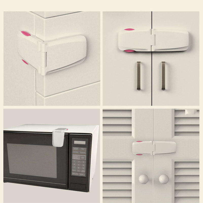 Creative Baby Safety Lock  Drawer Door Toilet Cabinet Cupboard Safety Locks Baby Protection Child Newborns AXP076