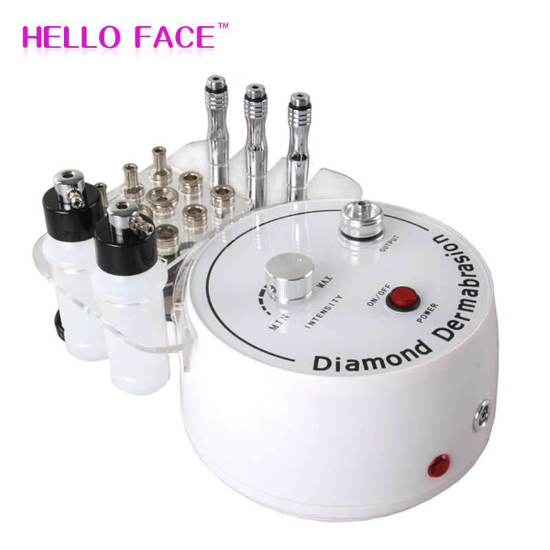 3 In1 Diamond Microdermabrasion Peel Machine Water Spray Exfoliation Dermabrasion Machine Vacuum Spray Facial Peeling For SPA
