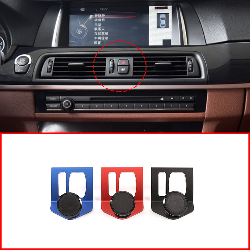 For BMW 5 Series F11 F10 F07 2010-2016 5 Series GT 3 Colors Aluminum Alloy Mobile Phone Holder Avigation Bracket Car Accessories
